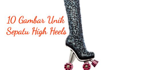10 gambar unik high heels