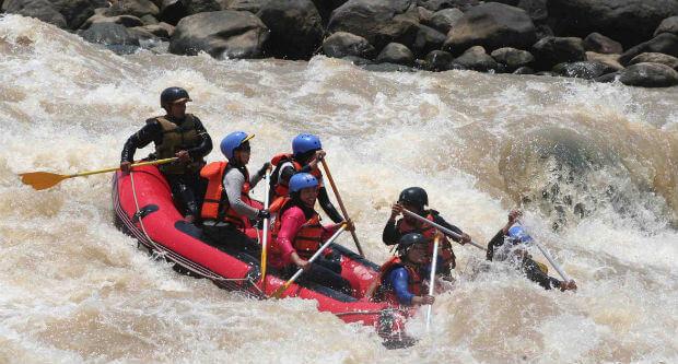 arungjeram sungai elo