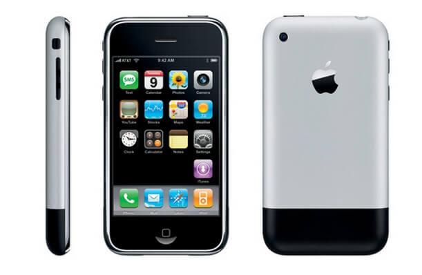foto iphone 1 pertama kali diluncurkan