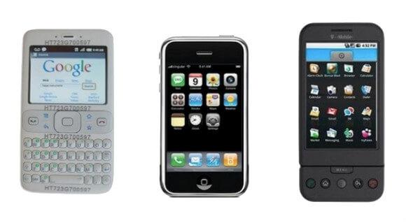 Ini Dia Gambar Penampakan Ponsel Android Jadul Pertama Ini Juga