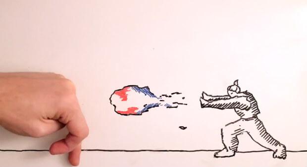 gambar unik animasi street fighter