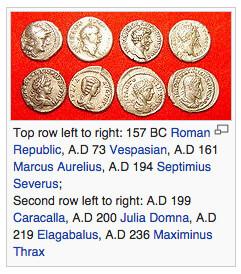 Mata uang Denarius