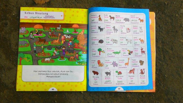 kamus bahasa arab bergambar anak kosakata arab bergambar