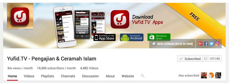 belajar islam salaf online yang baik dan benar untuk pemula di youtube
