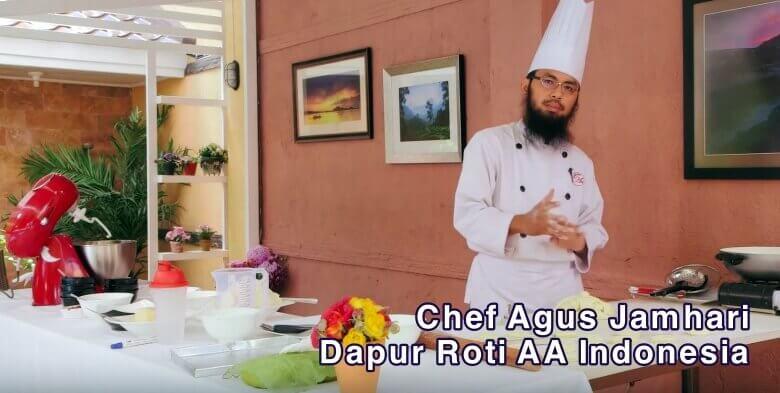 chef agus jamhari dapur roti aa indonesia cara membuat donat praktis